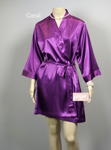 Load image into Gallery viewer, Bridal Robe - Solid Colour