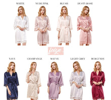 Load image into Gallery viewer, LACE Bridesmaid Robes - Rose Lace