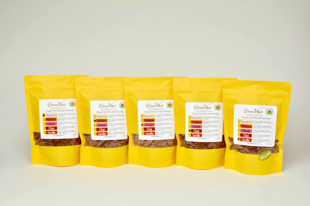 Hot Chocolate Shavings Collection - All 5 Flavours
