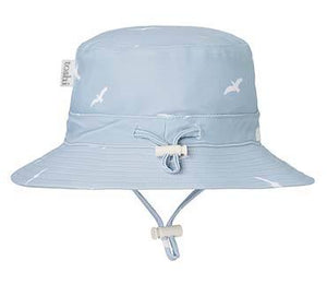 Toshi Swim Sun Hat Bondi Beach. Shop online at sticky Fingers Children's Boutique, Niddrie, Melbourne. Boys sunhat.