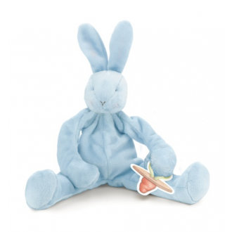 Silly Buddy Bud Bunny - Blue. SHop baby boys gifts now at Sticky Fingers Children's Boutique, Niddrie, Melbourne.