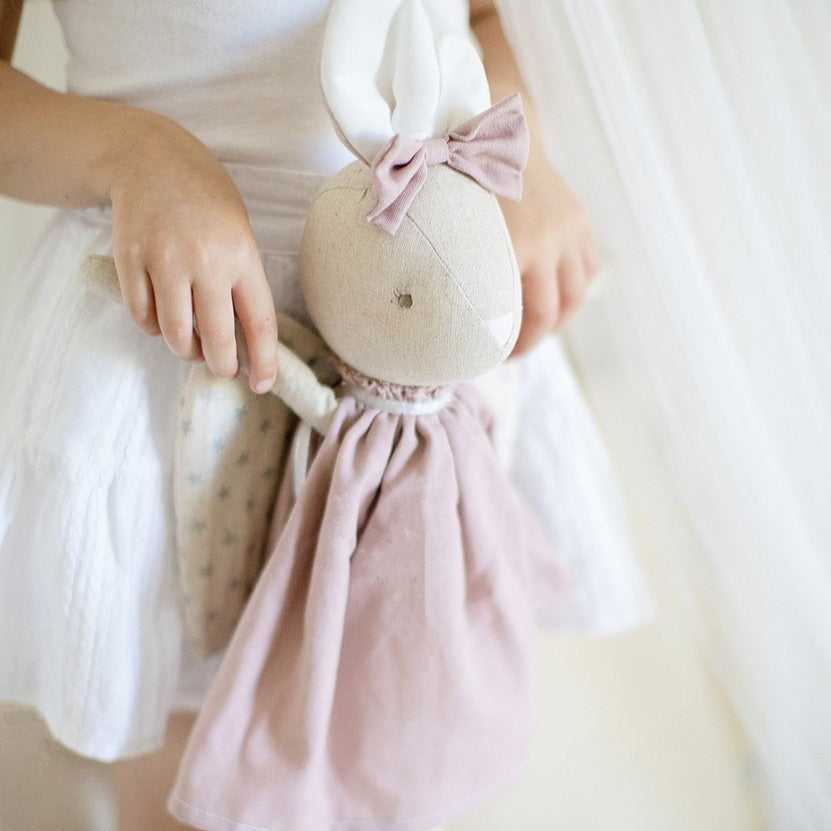 Bunny Angel Abby Rose. Shop online or in store at Sticky Fingers Children's Boutique, Niddrie, Melbourne.
