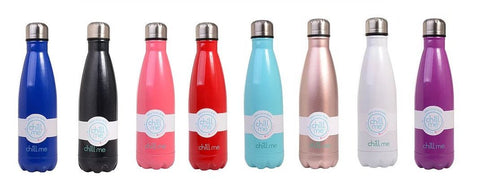 Chill Me Drink Bottle - Assorted Colours