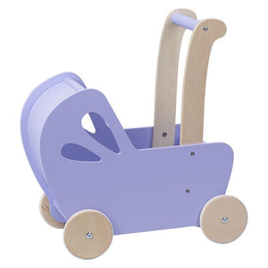 Moover Pram in Lilac. Toys for Children. Shop in store or online at Sticky Fingers Children's Boutique in Niddrie, Melbourne.
