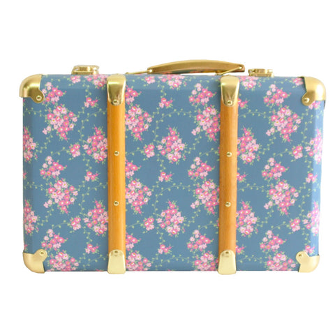 Vintage Style Carry Case WILDLFLOWER
