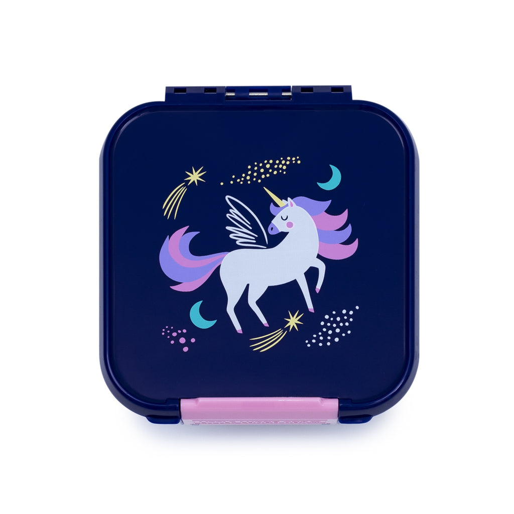 Little Lunch Box. Bento two Magical Unicorn Box. Shop online or in store at Sticky Fingers Children's Boutique, Niddrie, Melbourne,