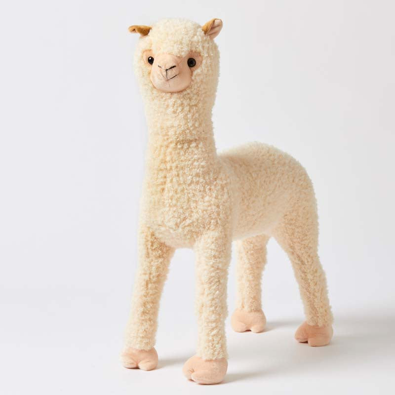 Large Standing Llama. Shop online or in store at Sticky Fingers Children's Boutique, Niddrie, Melbourne.