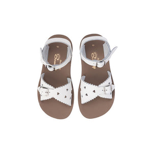 Saltwater Sandals Sweetheart in Tan at Sticky Fingers Children's Boutique