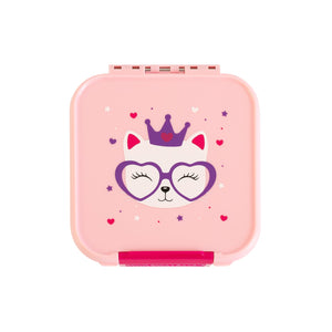 Girls snack Box. Kitty Bento 2 compartment. Shop in Niddrie at Sticky Finger Children's Boutique
