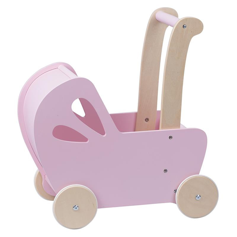 Moover Pram in Pink. Toys for Children. Shop in store or online at Sticky Fingers Children's Boutique in Niddrie, Melbourne.