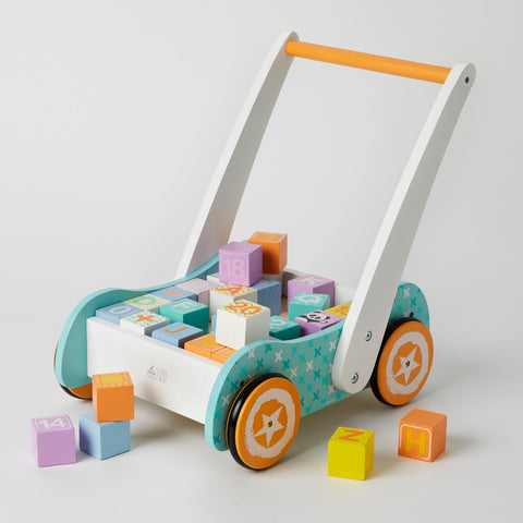 WT Baby Walker with Blocks