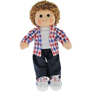 Jack Boy Doll Maplewood Hopscotch Doll Online at Sticky Fingers Children's Boutique