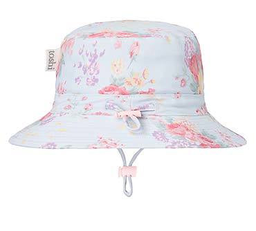 Toshi swim sunhat Celeste. Shop online or in store at sticky fingers children's boutique, Niddrie, Melbourne. Girls swimwear.