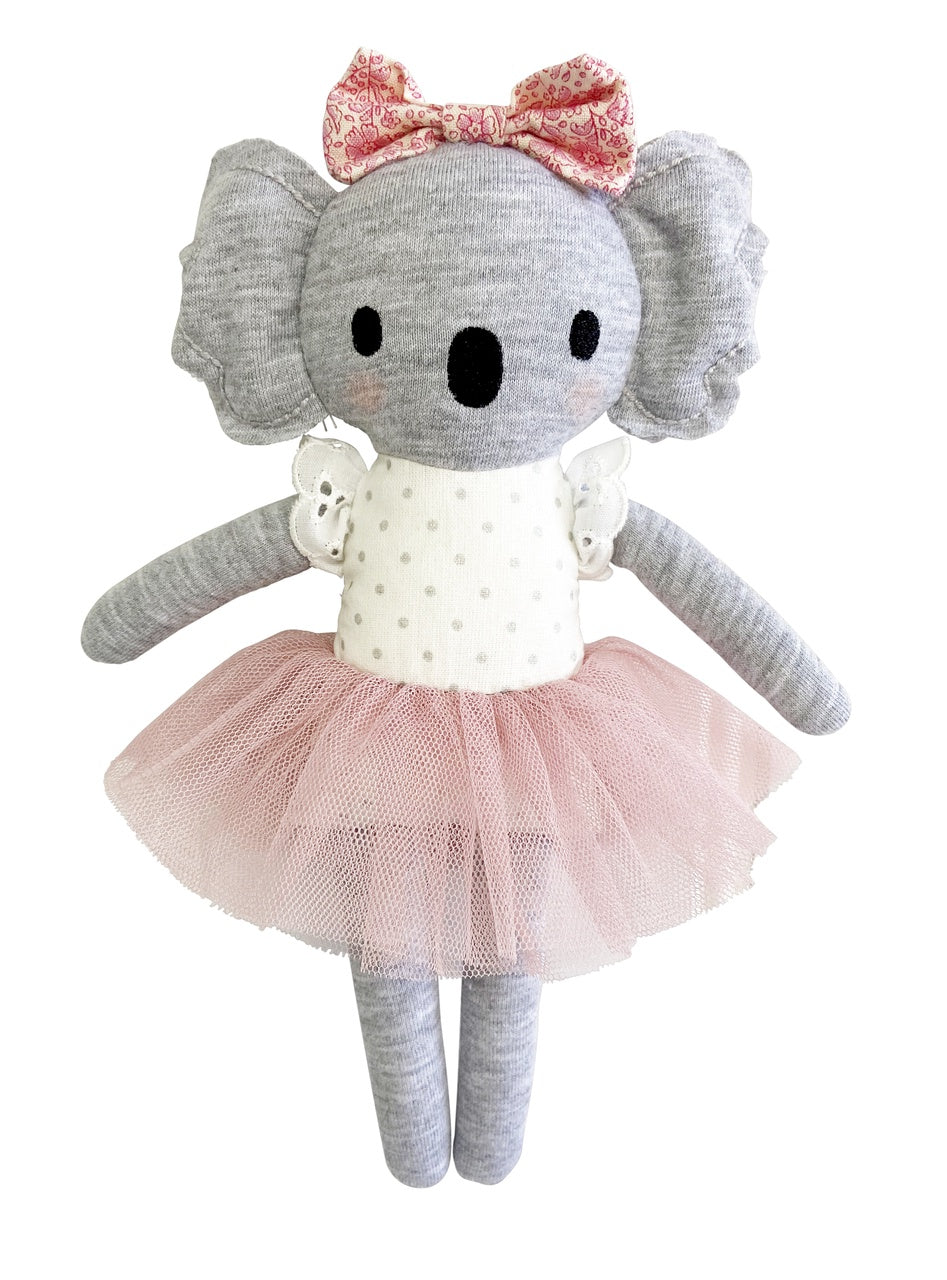 Alimrose Koala Trudie Blush, Sticky Fingers Children's Boutique Niddrie, Shop local