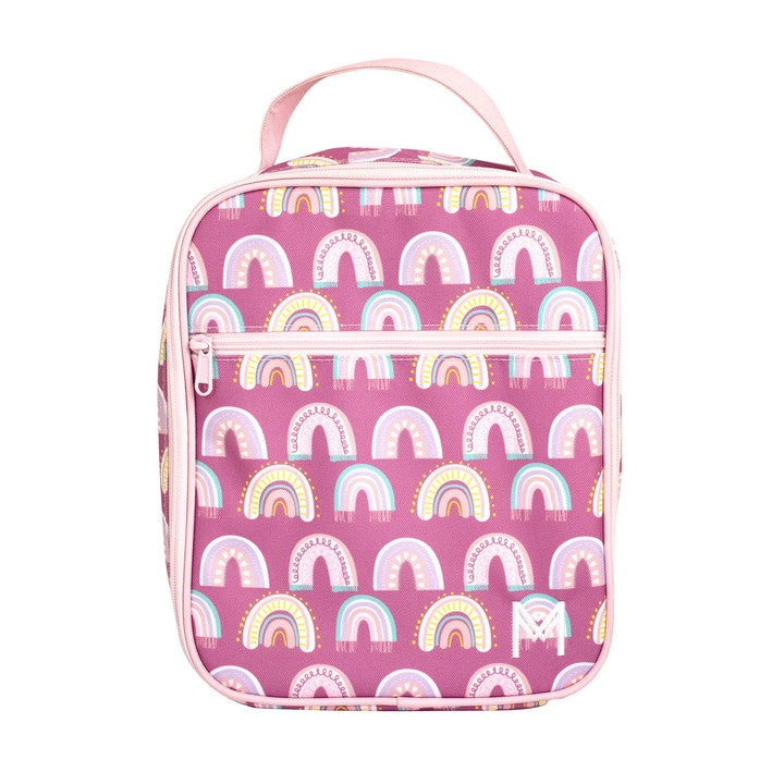 Montii Lunch Bag - Chasing Raibows. Shop online or in store at Sticky Fingers Children's Boutique, Niddrie, Melbourne.