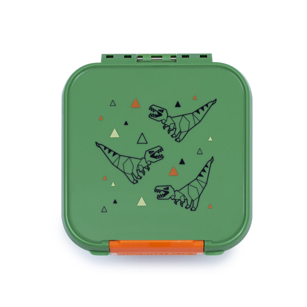 Little Lunch Box. Bento Two T-Rex Box. Shop online or in store at Sticky Finger Children's Boutique, Niddrie, Melbourne.