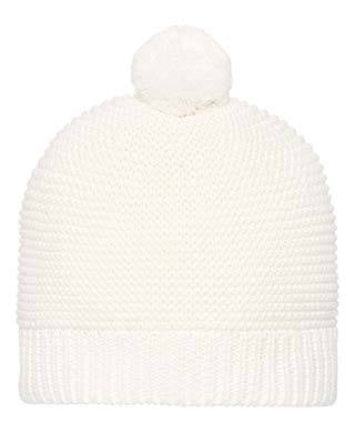 Toshi beanie. Winter beanie boys or girls. Cream Beanie. Shop Local at Sticky Fingers Children's Boutique in Niddrie, Melbourne