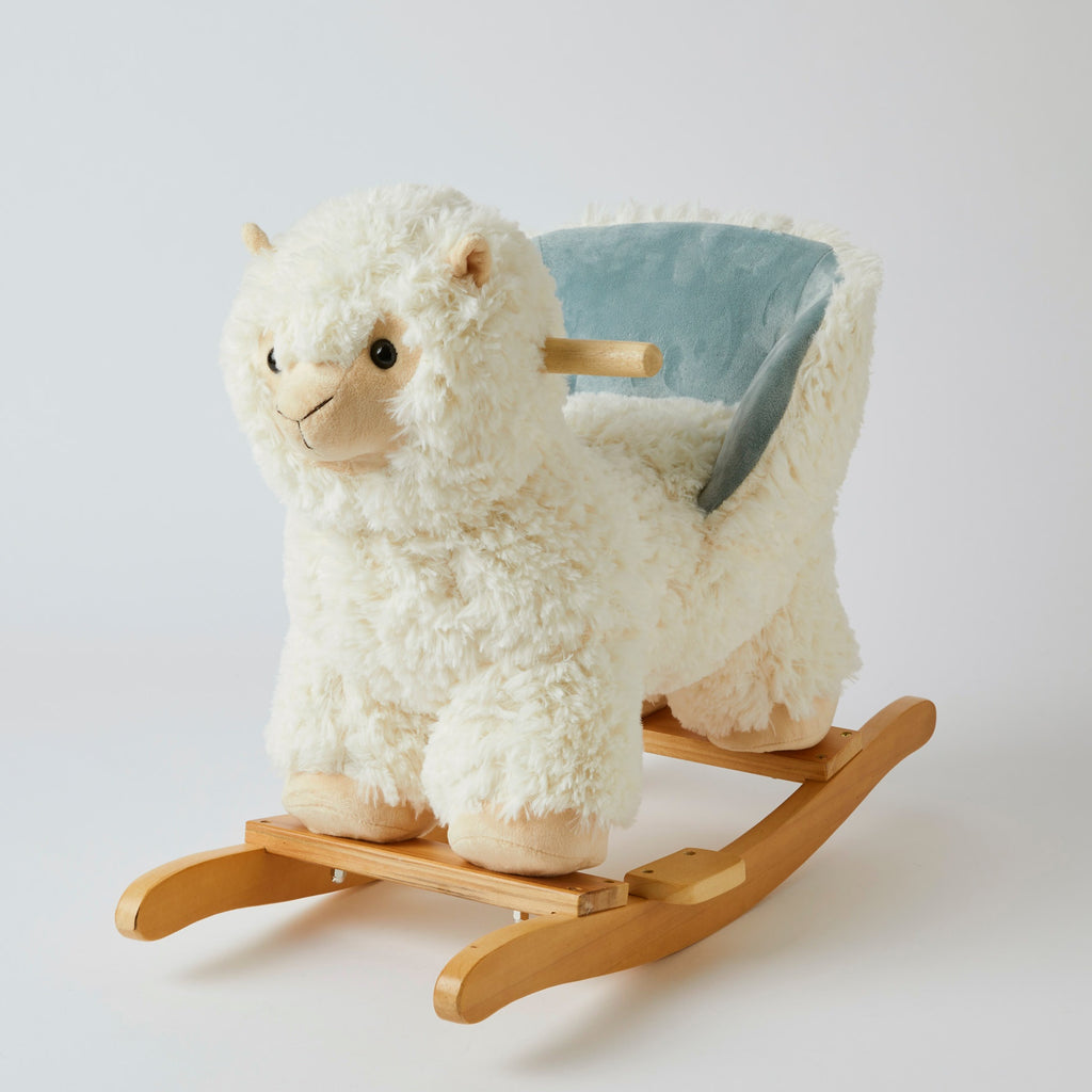 Rocking Llama. Shop now at Sticky Fingers Children's Boutique, Niddrie, Melbourne.