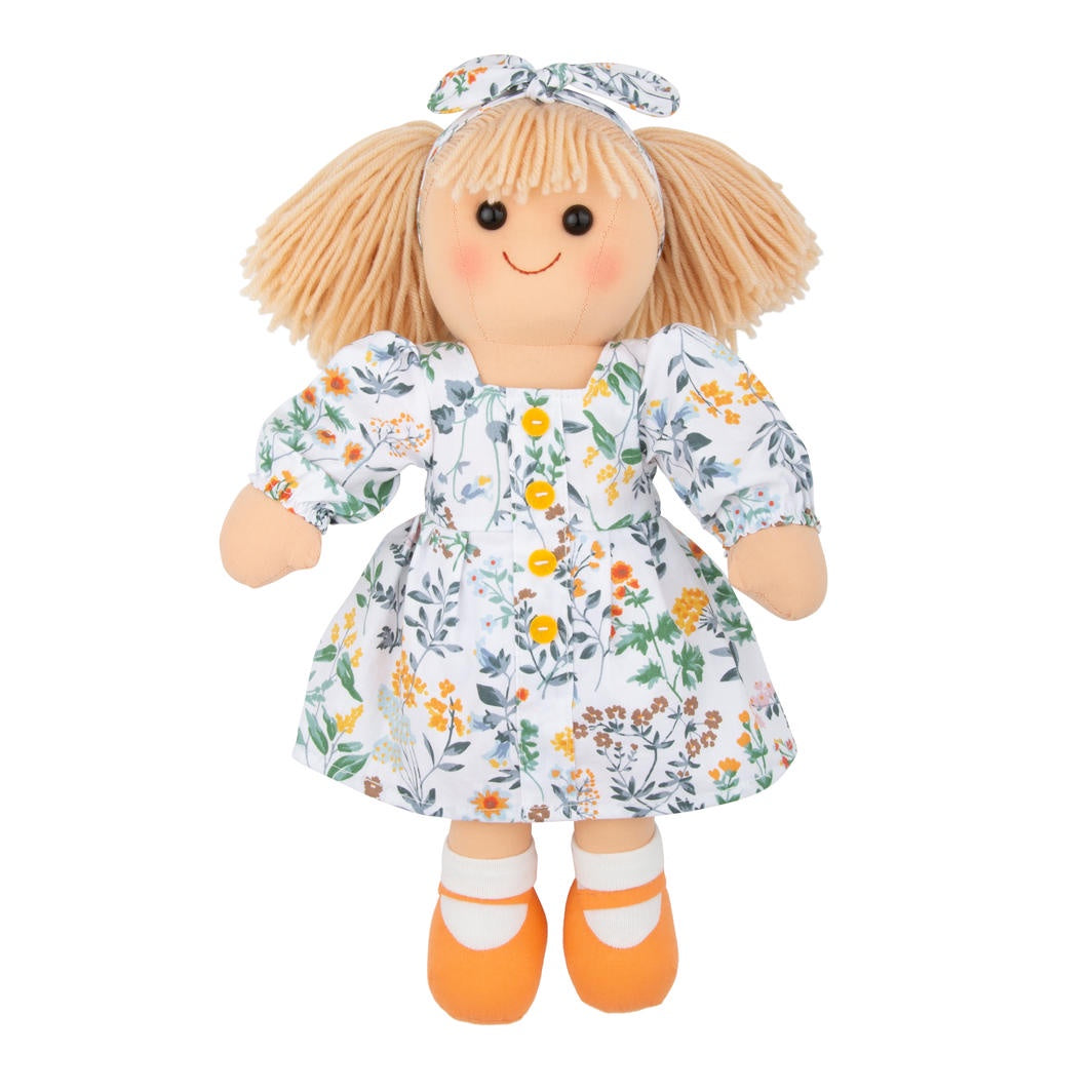 Maplewood Hopscotch Stella Doll. Shop now at Sticky Fingers Children's Boutique, Niddrie. Shop online or in store.