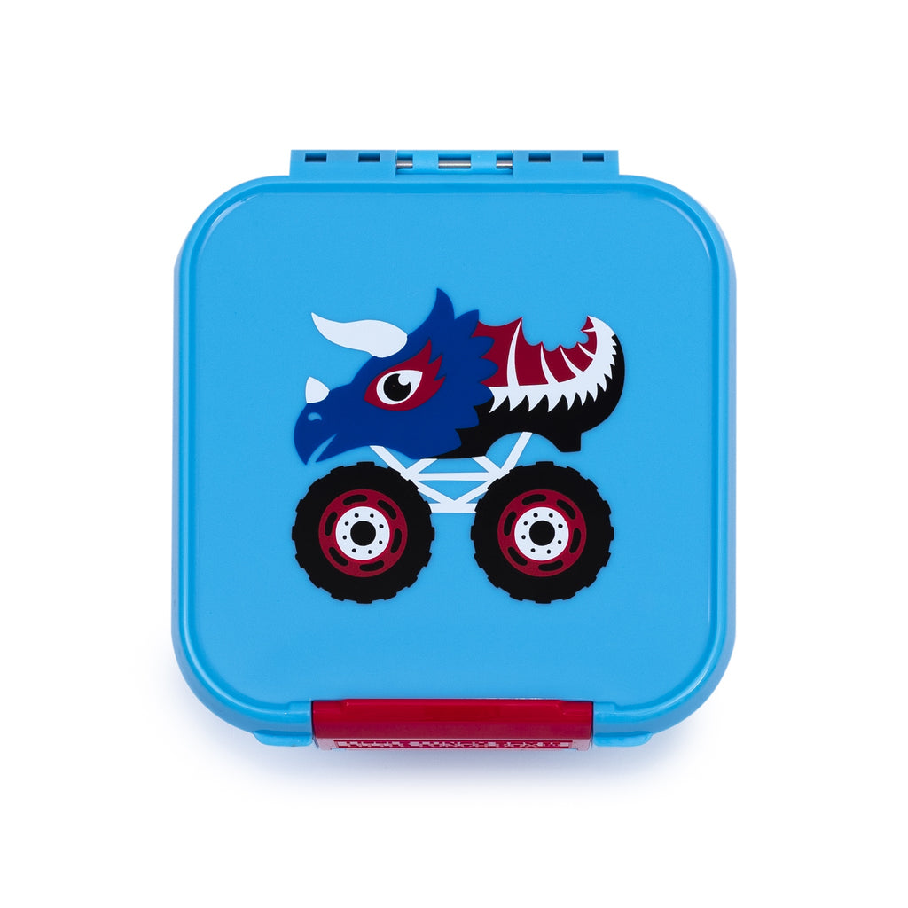 Little Lunch Box. Bent two Monster Truck Box. Shop online or in store at Sticky Fingers Children's Boutique, Niddrie, Melbourne.