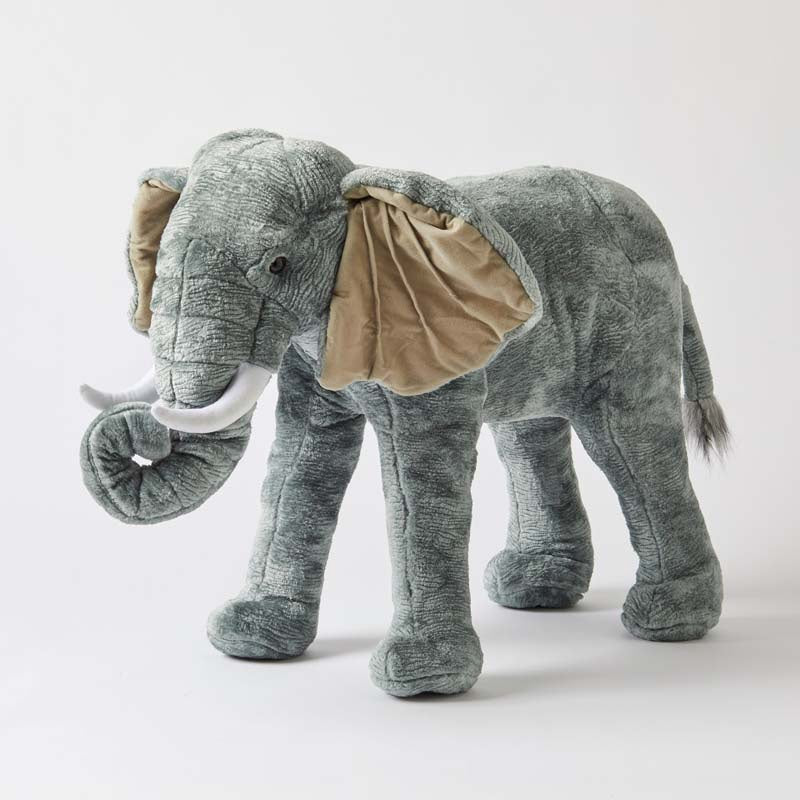 Large Standing Elephant. Shop online or in store at Sticky Fingers Children's Boutique, Niddrie, Melbourne.