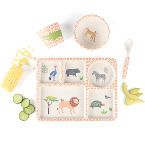 Bamboo Children's Dinner Set Love Mae Melbourne Boutique