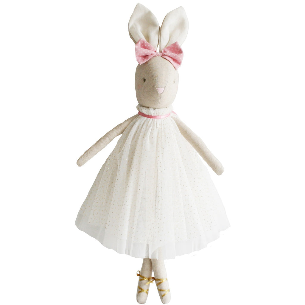 Alimrose Bunny Daisy Gold, Sticky Fingers Children's Boutique Niddrie, Shop local