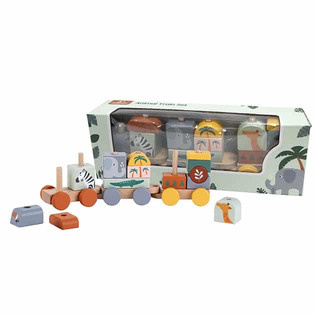 Zookabee Animal Train Set