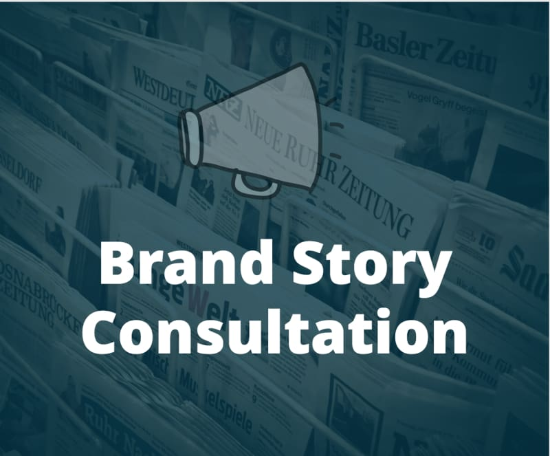 Brand Story Consultation - Digital Marketing Services