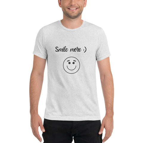 Smile More :) T-Shirt