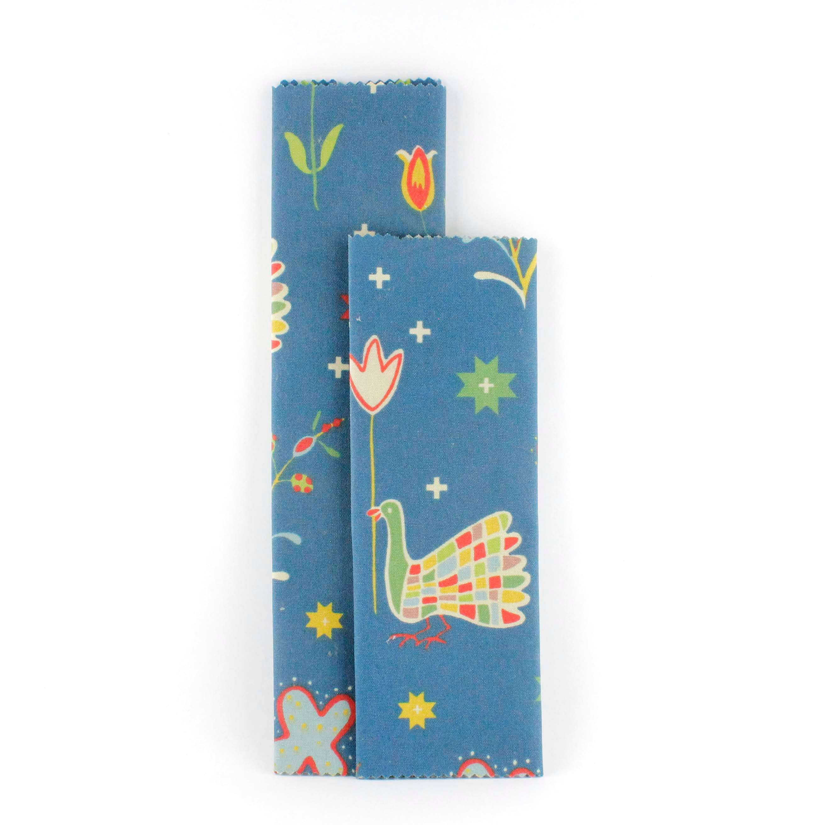 Beeswax Wraps Blue