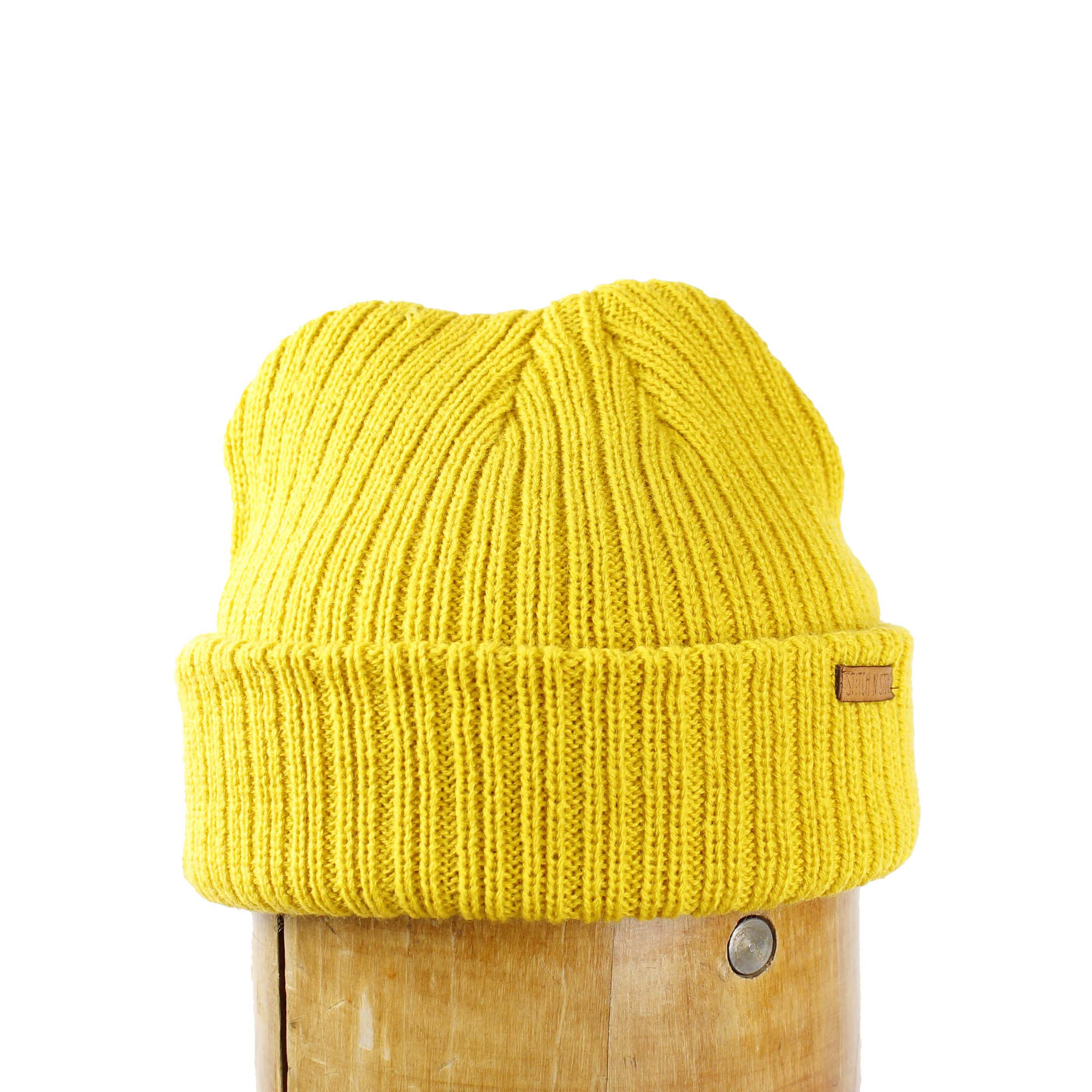 Chomper Beanie Stay Golden tiny logo