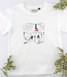 Kids T-shirt Åre