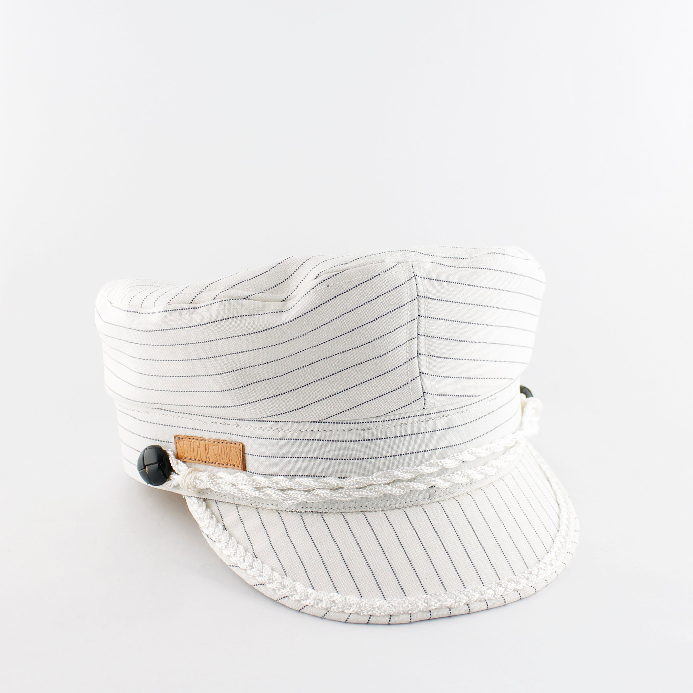 Vega cap White Stripes
