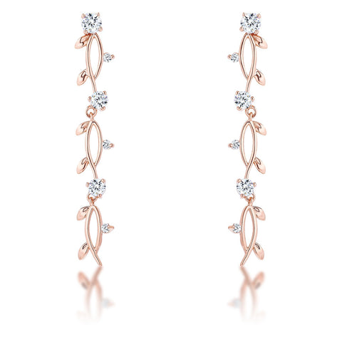 Vineyard Rose Gold Plated Earrings