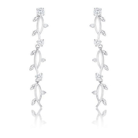 Silver Vineyard Earrings