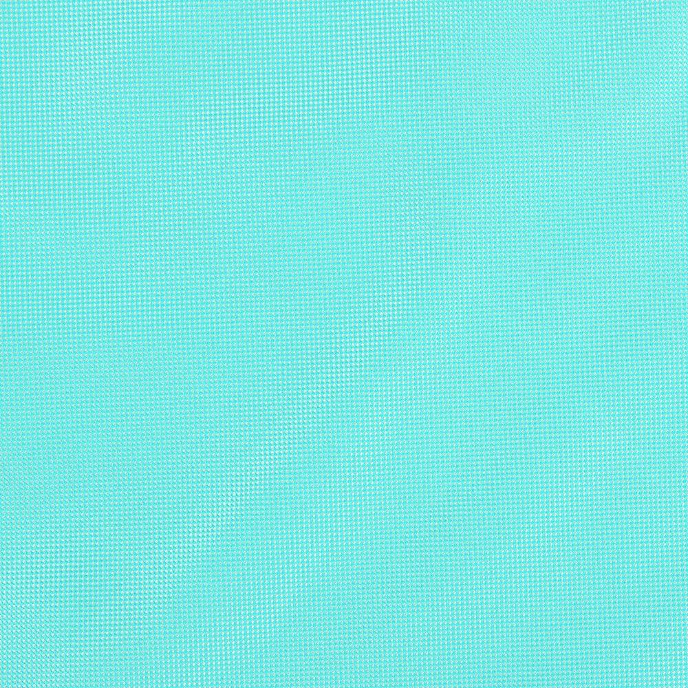 Aqua - Subtle Textured Weave Microfiber Pocket Square