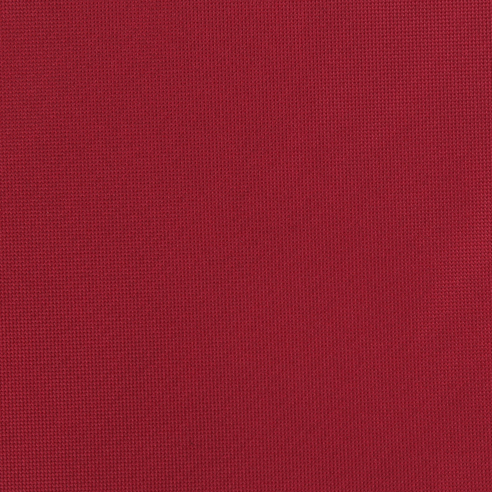 Burgundy - Subtle Textured Weave Microfiber Pocket Square