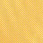 Gold/White - Mini Spot Microfiber Pocket Square