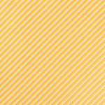 Gold/White -Diagonal Mini Stripe Microfiber Pocket Square