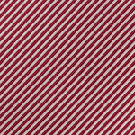 Burg/White - Diagonal Mini Stripe Microfiber Pocket Square