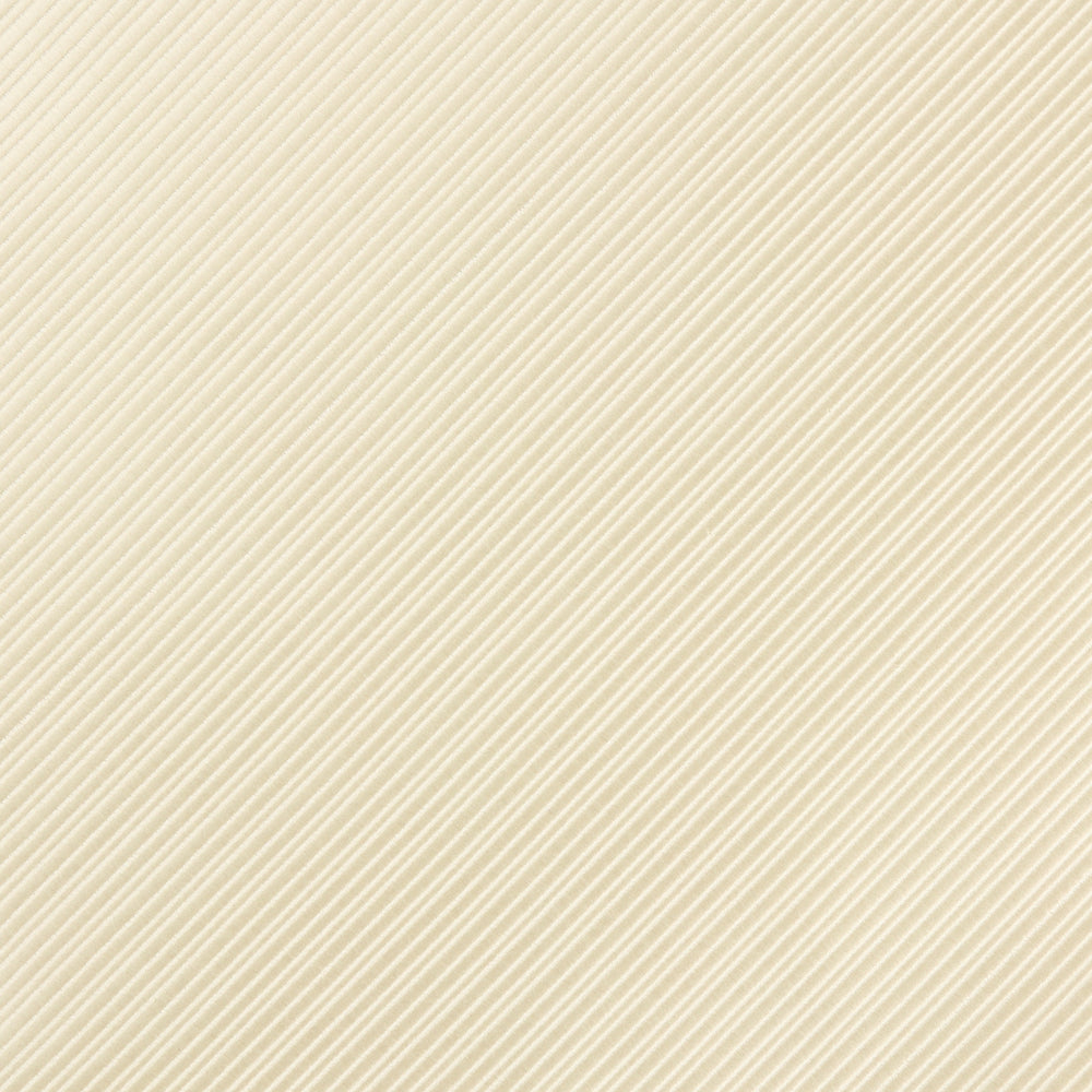 Ivory - Diagonal Mini Stripe Microfiber Pocket Square