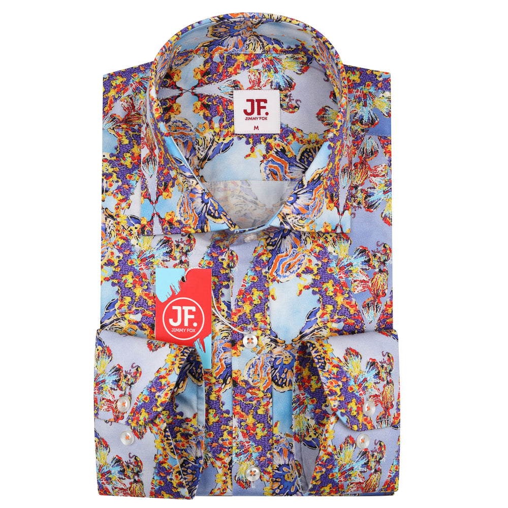 JF130 Psychedelic Print Shirt
