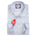 SAMPLE Mini Paisley Print Slim Fit L/S Shirt