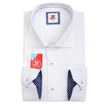 Luxury Oxford Weave Slim Fit L/S Shirt