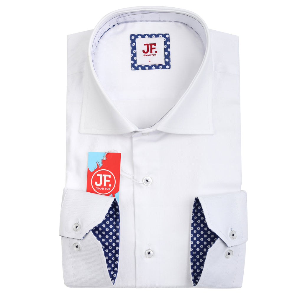 SAMPLE Luxury Oxford Weave Slim Fit L/S Shirt