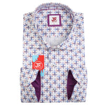 Multi Crosses Print Slim Fit S/S Shirt