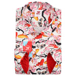 Koi Fish Print L/S Shirt