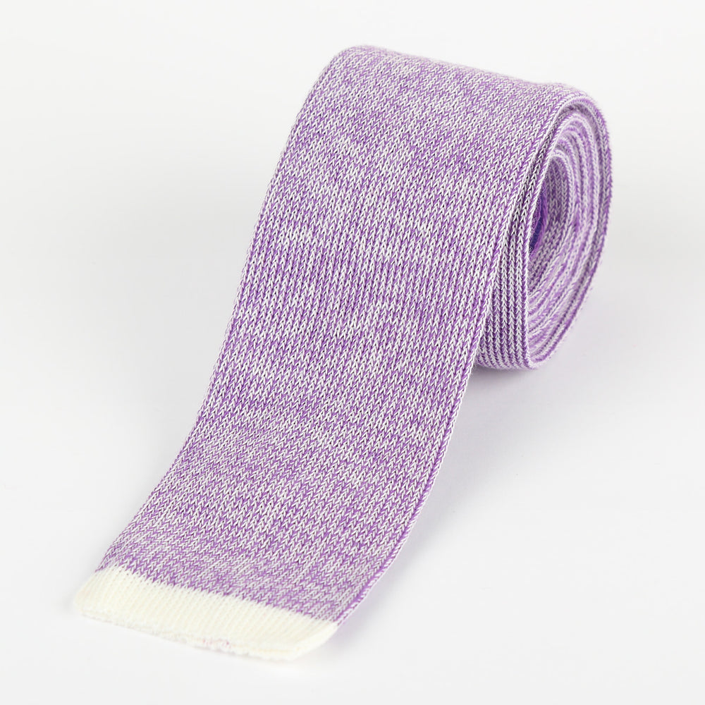 Purple - Shaded effect Italian Knitted Tie