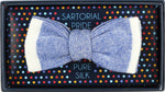 Royal - Shaded effect Italian Knitted Bow Tie